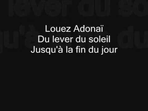 Louez Adonaï